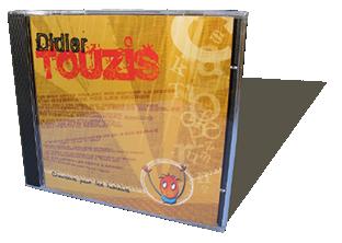 Didier Tousis - Chansons pour les humains - CD audio