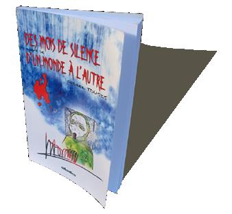 Didier Tousis - Des mois de silence / D'un monde à l'autre - POÉSIE