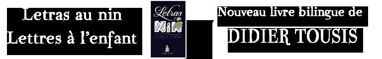Didier Tousis - Letras au nin